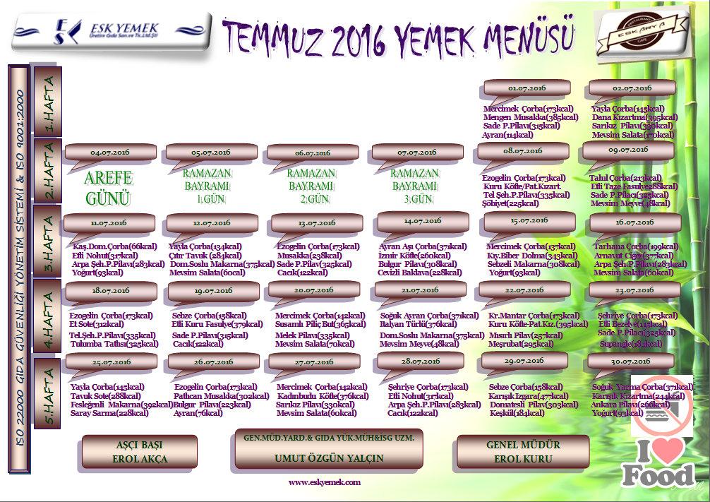 TEMMUZ'16